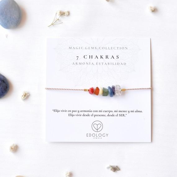 Pulsera Magic Gems - Piedras de los 7 Chakras