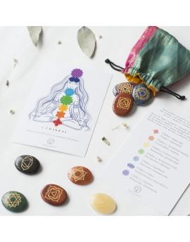 Piedras naturales equilibrio 7 chakras
