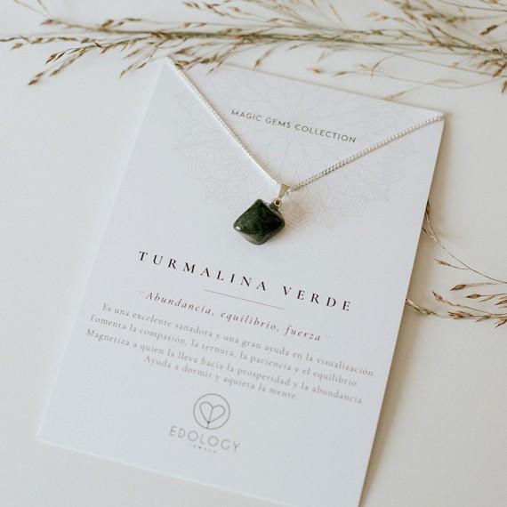 Colgante Magic Gems - Turmalina Verde