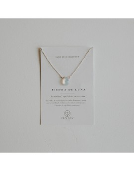 Colgante Lágrima Magic Gems - Piedra de Luna/Opalita