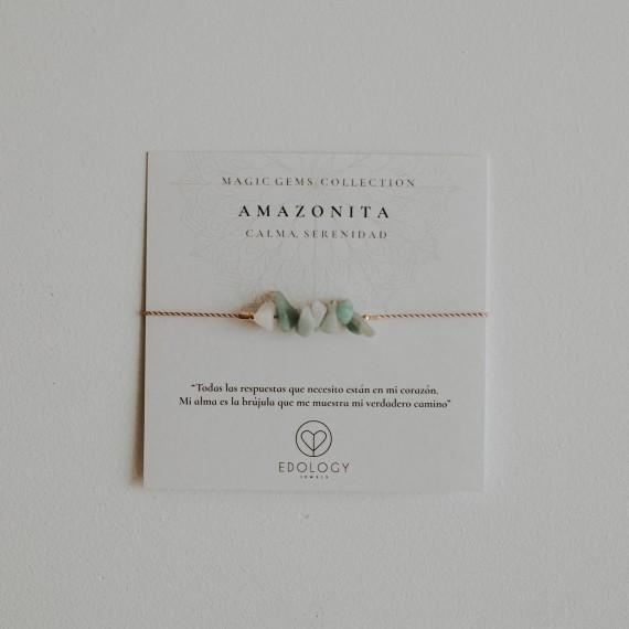 Pulsera Magic Gems - Amazonita