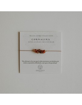 Pulsera Magic Gems - Cornalina