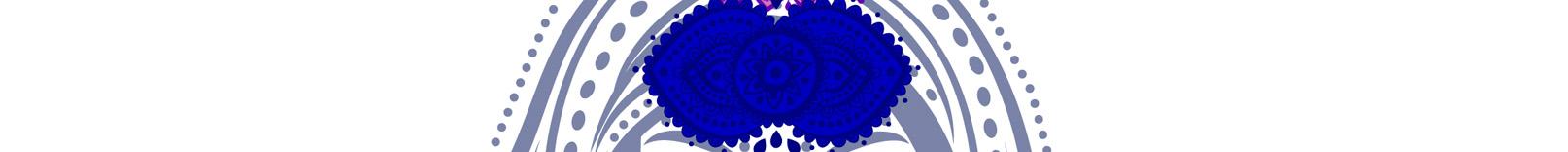 Chakra 6 Azul oscuro